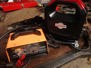 mastercraft battery charger/maintainer& tire inflator 12 volt