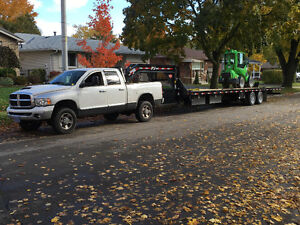 Looking for clients that needs flat bed hauling services Kitchener / Waterloo Kitchener Area image 1