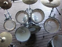 Pearl Export drumkit 7pc with cymbals. Needs to go soon! Shailer Park Logan Area Preview