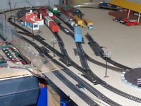HO Scale trains and infrastructure