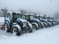 HIRING TRACTOR / SNOW BLOWER OPERATOR