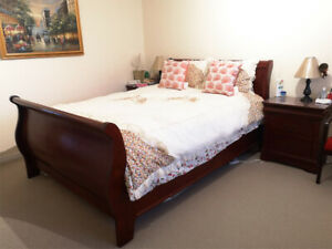 5 Piece Bedroom Set with Dressers & Chest