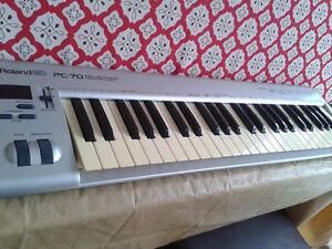 clavier midi Roland pc 70