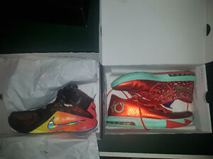 """Lebron Soldier 9 """"RISE"""" and KD 6 """"CHRISTMAS"""""""