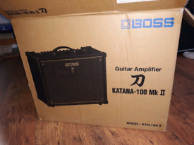 Boss Katana 100 MK 2 - Boxed - only a year old
