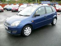 2007 FORD FIESTA 1.25 Style 5 DOOR SERVICE HISTORY NEW M.O.T