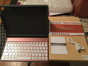 Wireless Keyboard and ipad keyboard case for sale!