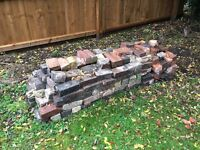 Used household bricks for free