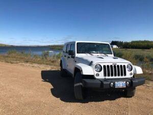 2015 Jeep Wrangler X Games White