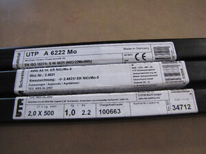 attention welders and welding equip supplier, TIG rods for sale