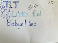 T&T little feet babysitting in river heights area!!