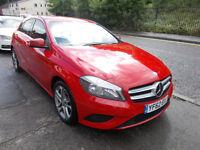 MERCEDES-BENZ A180 SPORT CDI DIESEL 5 DOOR NEW SHAPE £20 A YEAR RFL 2012-62