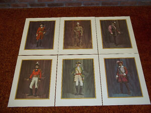 CANADIAN HISTORY PRINTS SET OF SIX SOLD AS A SET