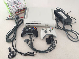 Xbox 360 Bundle, Controllers, Games