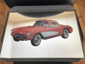 1957 Corvette hanging mirror