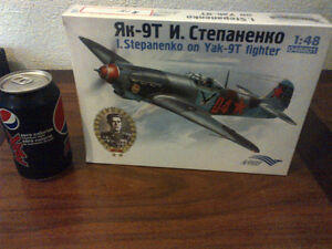 Russian Fighter airplane Model 1:48 scale Cambridge Kitchener Area image 1