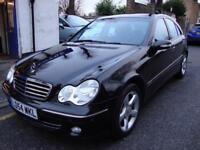 MERCEDES-BENZ C230 KOMPRESSOR 1.8 AUTOMATIC AVANTGARDE SE SALOON ** 2004 54**