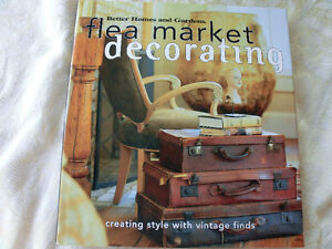 """Better Homes and Gardens """"Flea Market Decorating"""""""