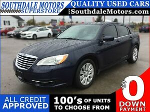 2014 CHRYSLER 200 LX * POWER GROUP * PREMIUM CLOTH SEATING * LOW