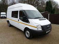 2013 Ford Transit 2.2TDCi, LWB, 8 Seat Welfare Van, Mess van, Toilet Van, 125ps