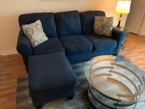 Couch with Ottoman $600 obo