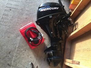 9.9 Mercury 4 stroke, short shaft outboard