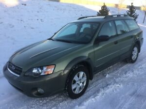 LOW MILEAGE 2005 SUBARU OUTBACK 2.5