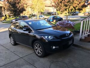 2009 Mazda CX-7 GT, Black SUV, Crossover
