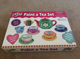 GALT Paint a tea set - brand new sealed
