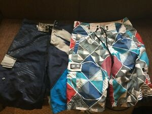 Men's SMALL bathing suits