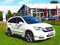 """2010 Honda CR-V 2.2i-DTEC auto EX, Aero Pack , 19"""" Alloys, White SOLD! SOLD!!"""