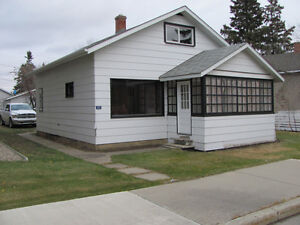 Close to downtown Nipawin 2 bedroom house