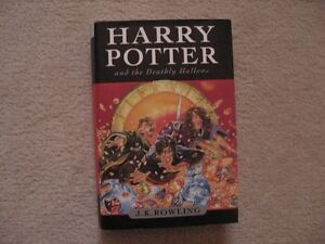 Harry Potter And The Deathly Hallows Hardcover Book