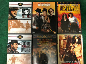 6 lot of Action Movie's on DVD