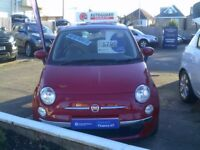 Fiat 500 1.2i Lounge S/S (red) 2013