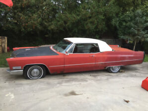 1967 Cadillac Coup DeVille-SOLD Pending Pick up