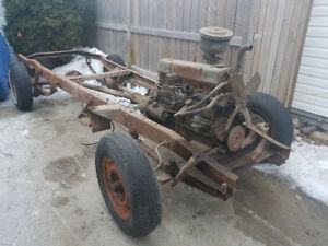 1954 Chevy/GMC 1/2  ton swb chassis and drivetrain
