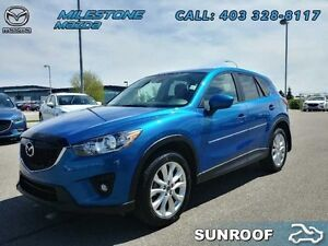 2014 Mazda CX-5 GRAND TOURING  Bose audio, Leather, AWD! $185.58