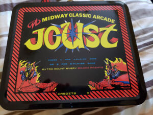 Midway Classic Arcade Joust Tin Lunchbox (new)