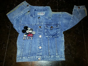 lovely Mickey jean's jacket for toddlers till 3 year old