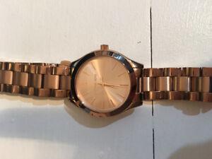 Michael Kors Mini Slim Runway Rose Gold Watch