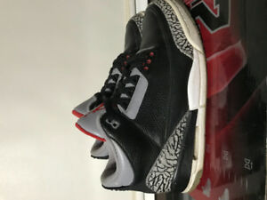 Jordan Black Cement 3- Size 10