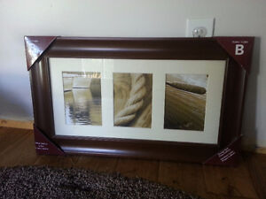 Picture frame for 3 5x7 pictures - Porch Pick-up Kitchener / Waterloo Kitchener Area image 1