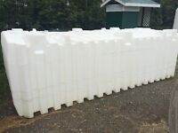 large water storage tank