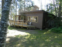 rustic cabin for sale at emma lake
