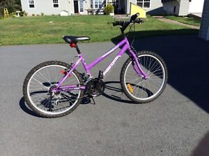 "Girl 15"" 18 speed bicycle"