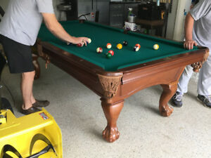 Beringer Princeton Slate Pool Table