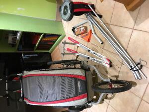 Chariot THULE :  Kit de SKIS  ou randonnée.