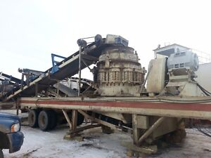 For Rent Portable Cone Crushing Plant