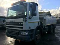 DAF TRUCKS CF 75.310 6x2 WITH ALLOY TIPPING BODY AND ECON EQUIPMENT